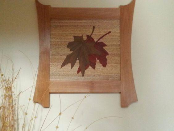 Maple Leaves Inlaid By Whitlock Wooden Designs