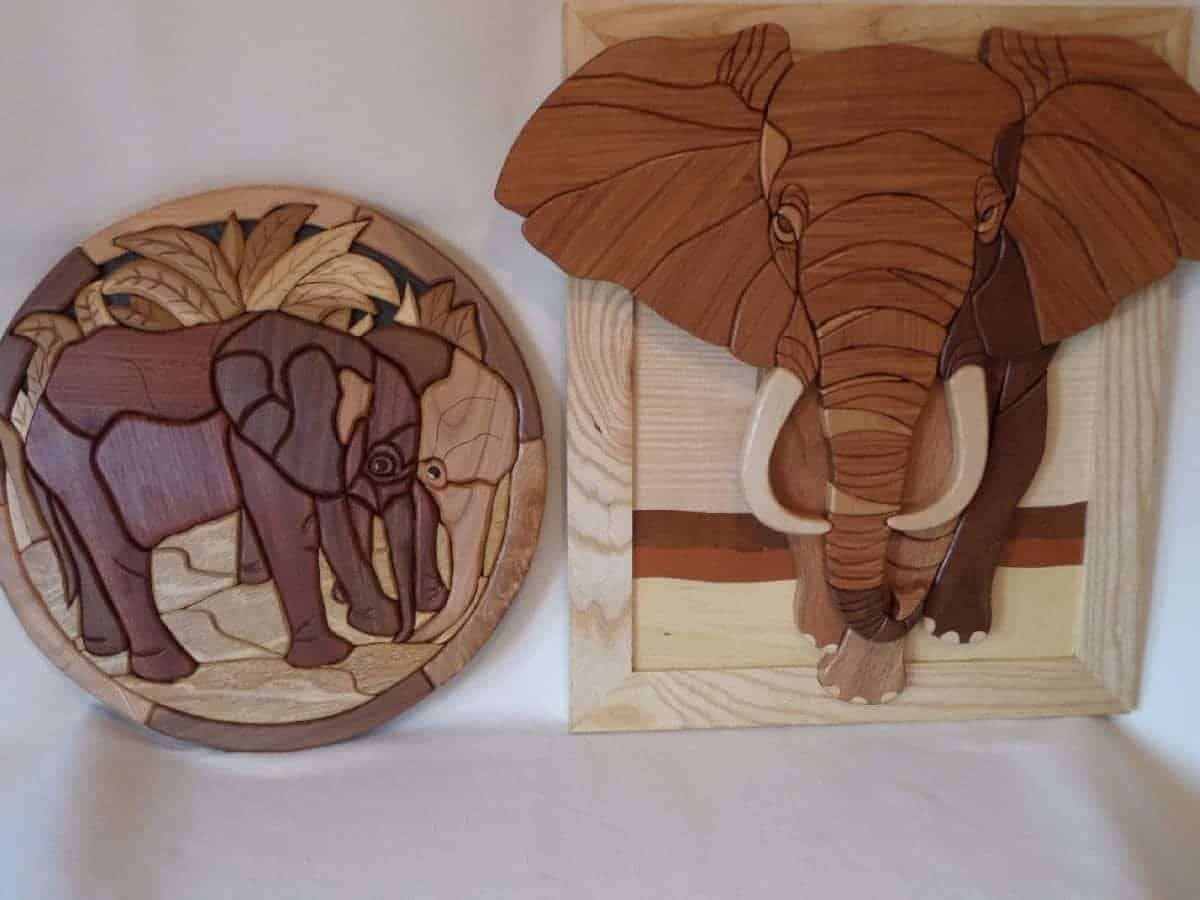 Wooden Intarsia Wall Art - Home Decor By Whitlock Wooden Designs